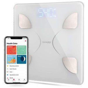 BATHROOM SCALE - BLUETOOTH BMI Smart Weight - NEW